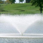 fountain pond aerator