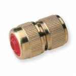 connector with shut off